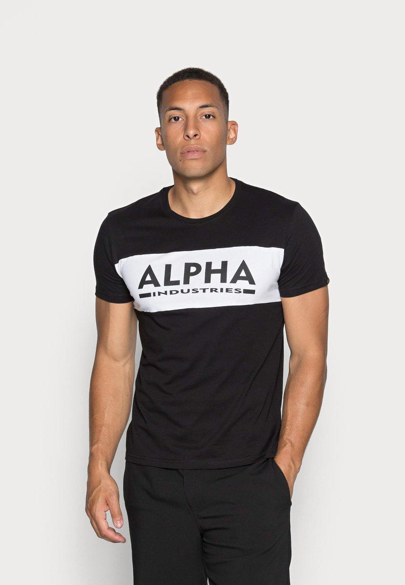 Alpha Industries - Printtipaita - black