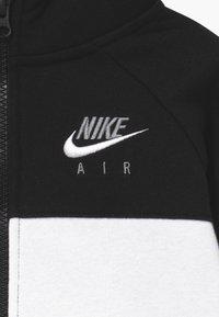 Nike Sportswear - Zip-up hoodie - black/university red - 3