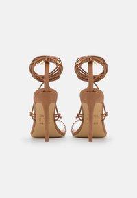 ALDO - GLAOSA - T-bar sandals - cognac - 3