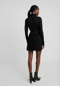 NAF NAF - MAILLARD - Mini skirt - noir - 2