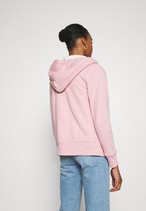 Mikina na zip - pink standard