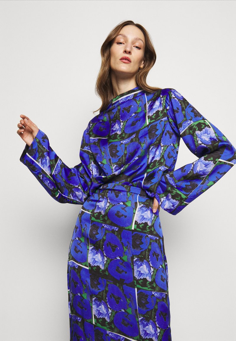 House of Dagmar - PAISLY - Blouse - blue