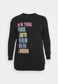 CAPSULE by Simply Be - CITIES LONLINE - Sweatshirt - black - 3