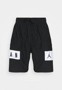 Jordan - AIR - Krótkie spodenki sportowe - black/white - 4
