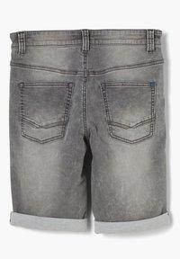 s.Oliver - SLIM - Denim shorts - grey - 2