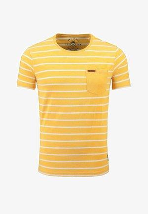 MT DEFENCE - Print T-shirt - yellow