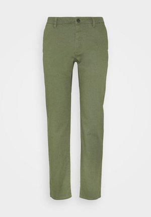 Pantalones chinos - dark green
