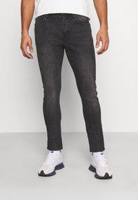 AllSaints - CIGARETTE - Jeans Skinny Fit - washed black - 0