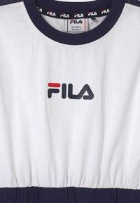 Fila - FILIO - Jersey dress - bright white/super pink/black iris - 2
