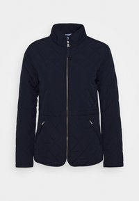GANT - QUILTED FITTED JACKET - Light jacket - evening blue - 0