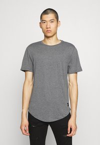 Only & Sons - MATT 5 PACK - T-shirt basic - dark grey melange/cabernet mel - 3