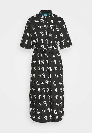 WOMENS DRESS - Košilové šaty - black