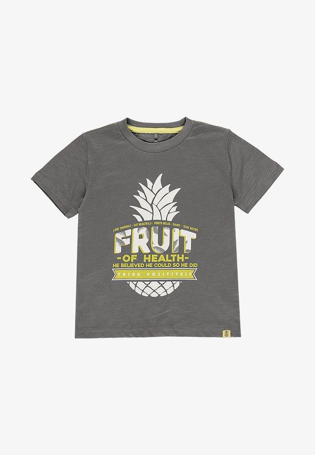 T-shirt imprimé - steel