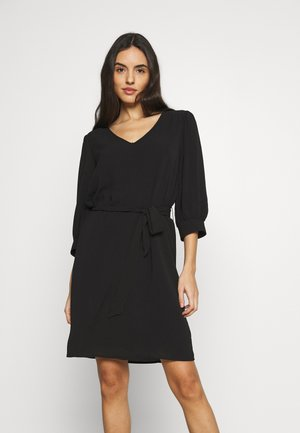JDYAMANDA 3/4 DRESS - Day dress - black