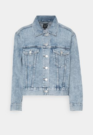 CROP RELAXED ICON - Denim jacket - light anita