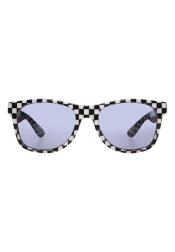 MN SPICOLI 4 SHADES - Sunglasses - black-white check-flame