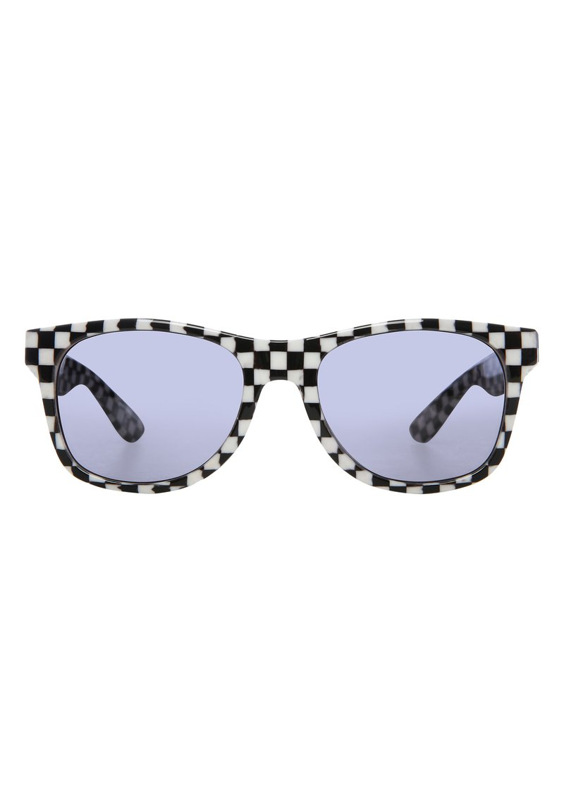 Vans - Sunglasses - black-white check-flame