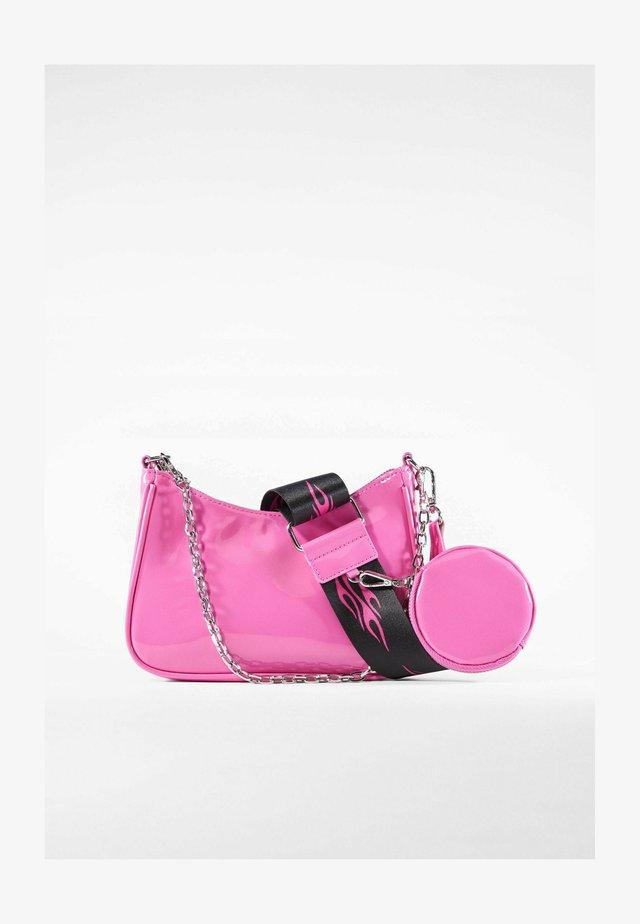 Kabelka - neon pink