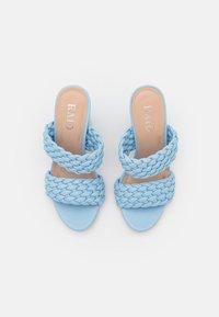 RAID - DEVYN - Pantofle na podpatku - blue - 5