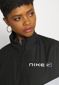 Nike Sportswear - STREET - Training jacket - black/pure platinum/white - 3