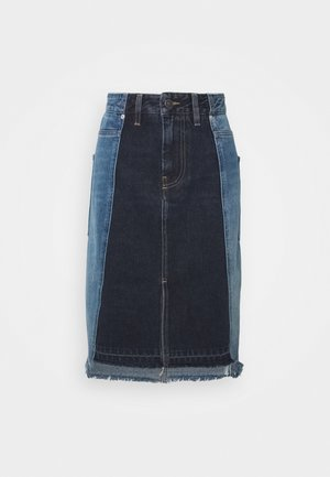 DE-PAU-SP SKIRT - Gonna a tubino - indigo