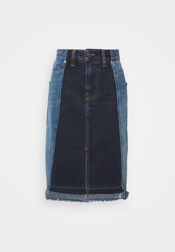 DE-PAU-SP SKIRT - Pencil skirt - indigo