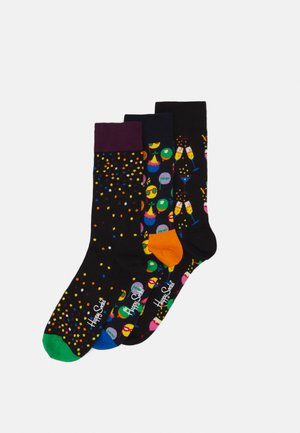 CELEBRATION GIFT SET 3 PACK - Socks - black