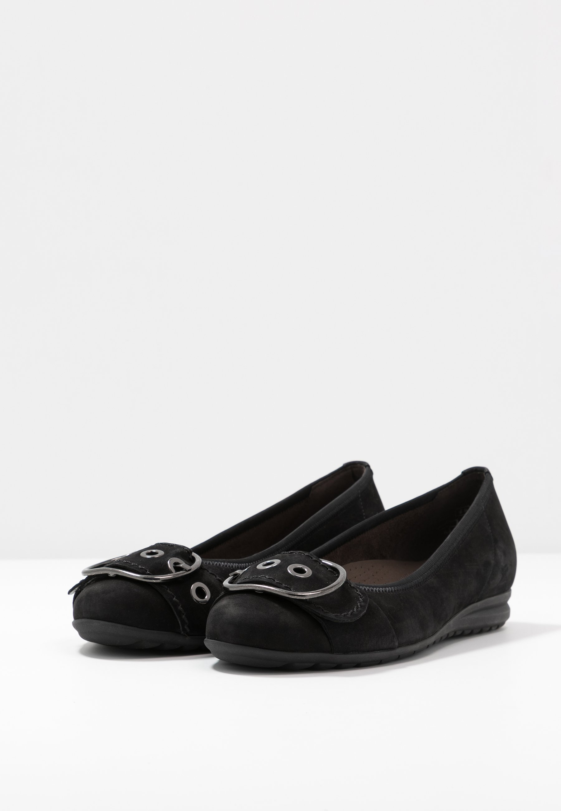 Gabor Comfort Ballerina - Schwarz/svart