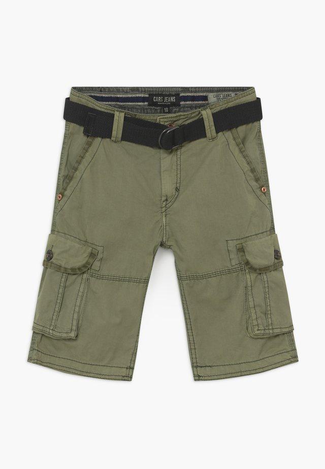 KIDS DURRAS - Pantalon cargo - olive