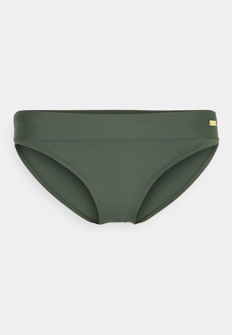 LASCANA - PANTS BAND - Bikini bottoms - olive