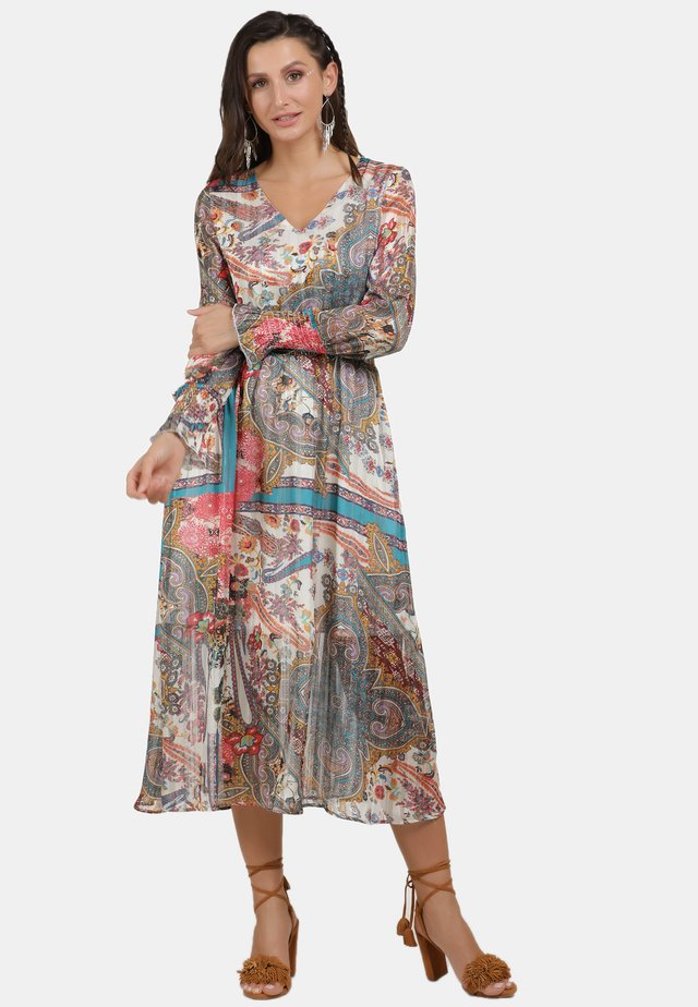 Sukienka letnia - türkis