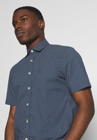 Marc O'Polo - SHORT SLEEVE - Shirt - dark blue - 3