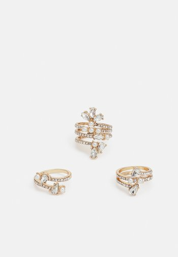 HELLAWELL 3 PACK - Ring - gold-coloured