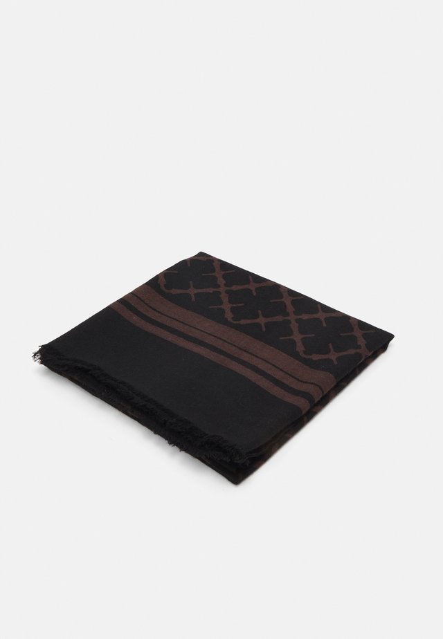 CORNELIS - Šátek - dark chokolate
