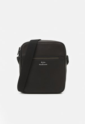 SMOOTH CROSSBODY UNISEX - Across body bag - black
