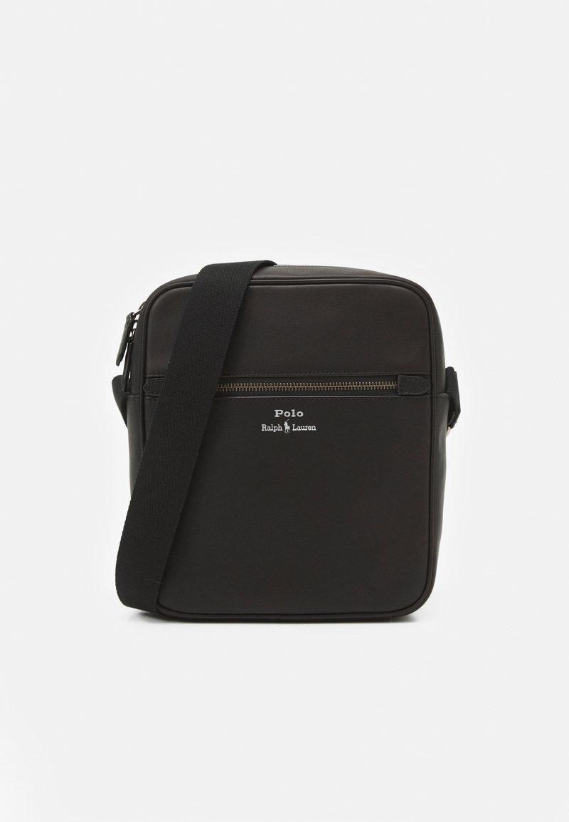 Polo Ralph Lauren - SMOOTH CROSSBODY UNISEX - Across body bag - black