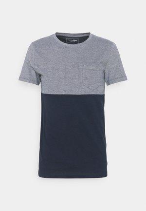 CUTLINE STRUCTURE - T-shirt med print - sky captain blue
