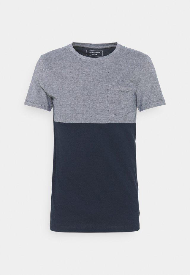 CUTLINE STRUCTURE - T-shirt print - sky captain blue