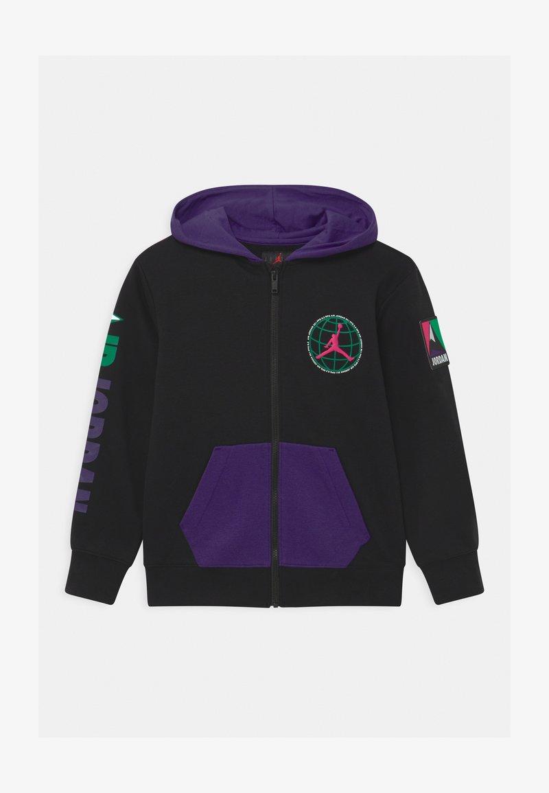 Jordan - MOUNTAINSIDE - Fleece jacket - black