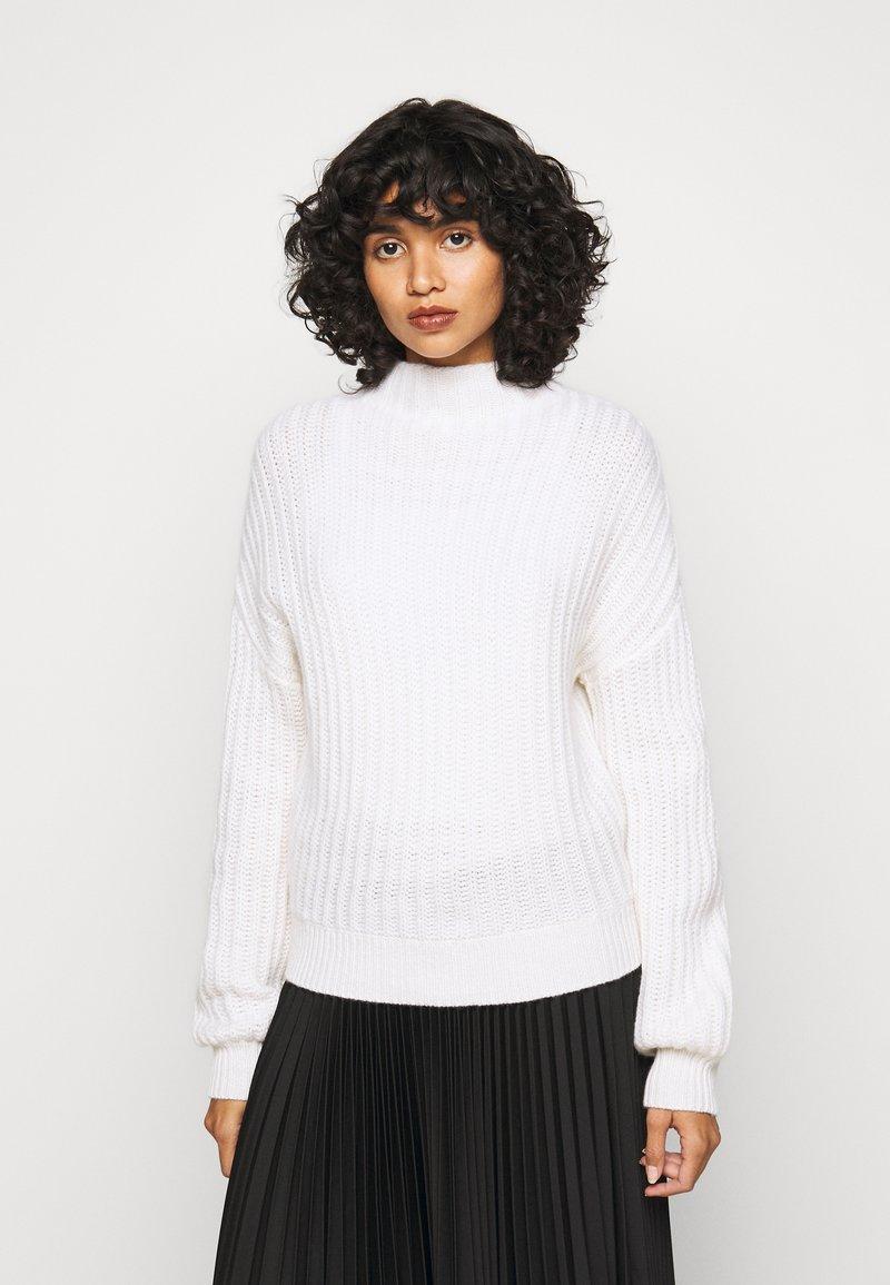 FTC Cashmere - HIGHNECK - Trui - pristine white