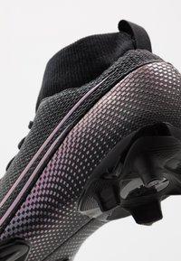 Nike Performance - MERCURIAL JR 7 ACADEMY FG/MG UNISEX - Moulded stud football boots - black - 2