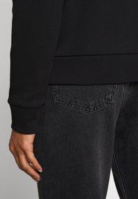 HUGO - NICCI - Long sleeved top - black/silver - 2