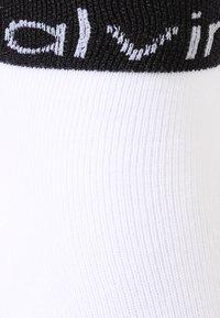 Calvin Klein Underwear - ZOEY ANKLET 2 PACK - Strømper - white - 2