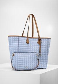 L.CREDI - EVE - Shopper - blue - 3