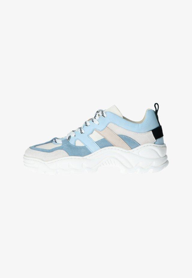 MIT DETAILS - Sneakers laag - hellblau