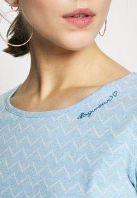 Ragwear - ZIG ZAG - Triko spotiskem - blue - 5