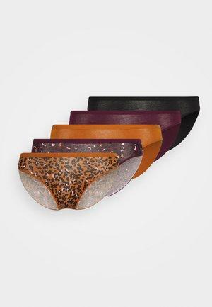 5 PACK - Slip - mulberry