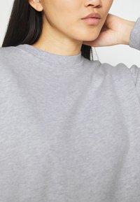 American Vintage - BEATOWN - Sweatshirt - gris clair chine - 5