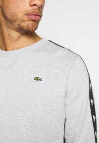 Lacoste Sport - TAPERED - Sweatshirt - silver chine/black - 4