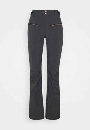 SILVERLAKE MELANGE WOMEN PANT - Snow pants - black